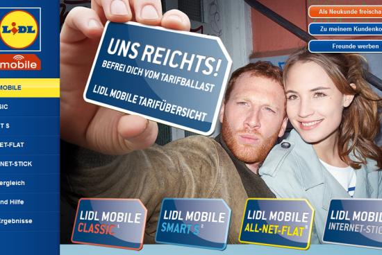 Lidl Talk – der mobile Tarif von Lidl
